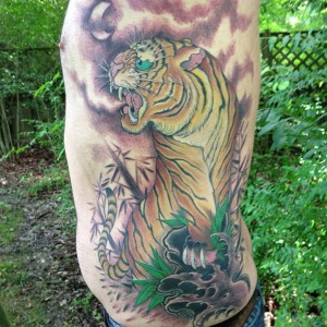 dana helmuth tiger rib piece