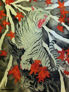 whitetigerpainting