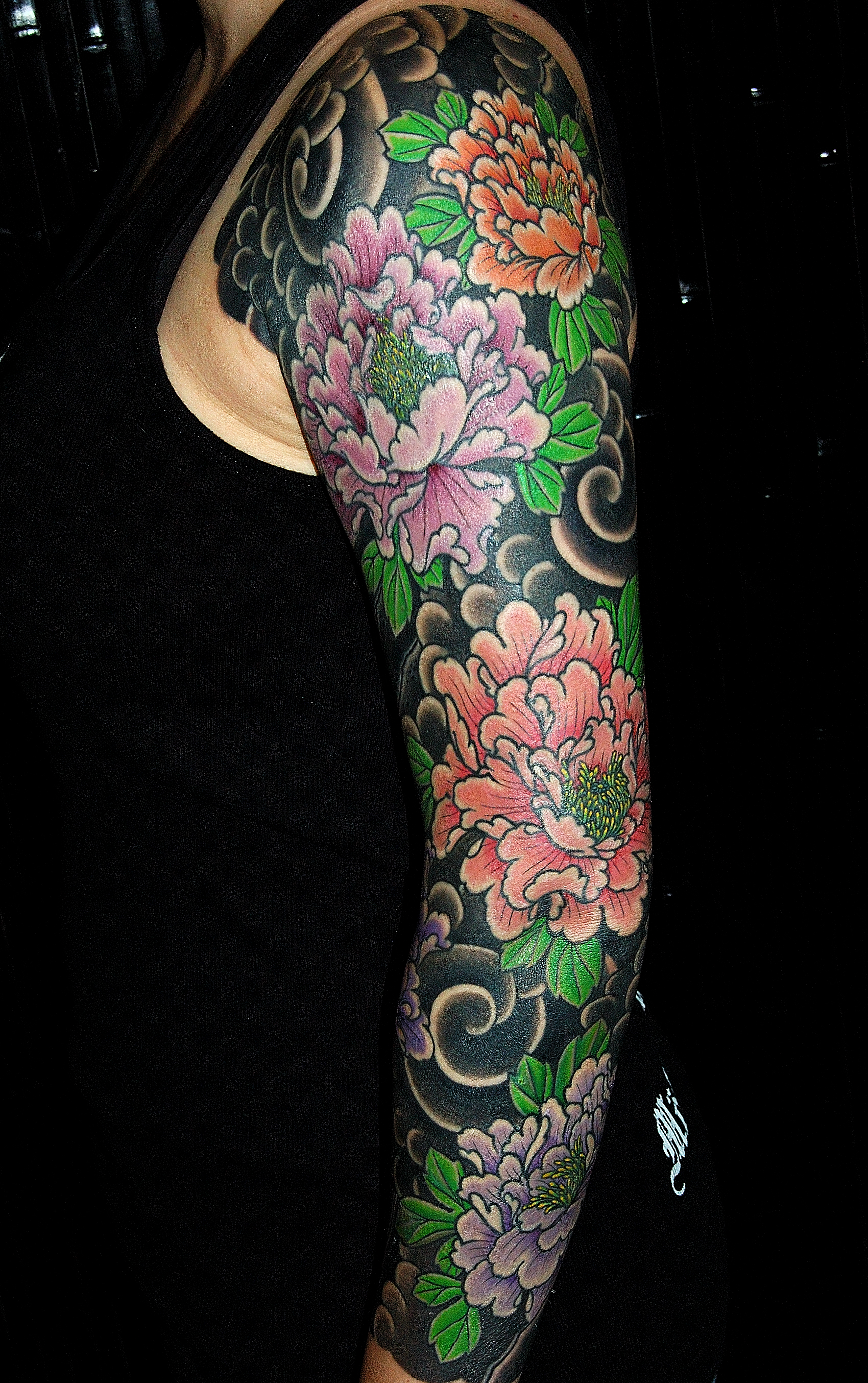 1000 ideas about japanese peony tattoo on pinterest for Japanese tattoo